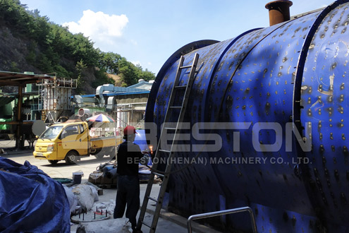 Beston Pyrolysis Equipment for Sale in South Korea