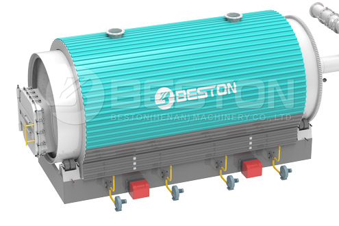 Kleinschalige pyrolysereactor