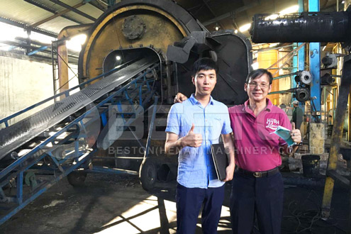Tire Pyrolysis Machine