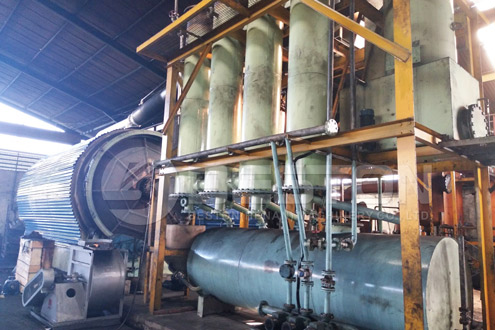Beston Tyre Pyrolysis Plant in Indonesia