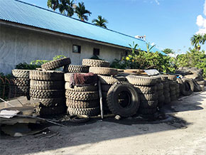 Tyre in Indonesia