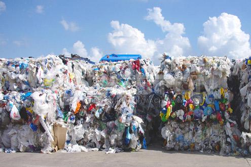 Affald af plast