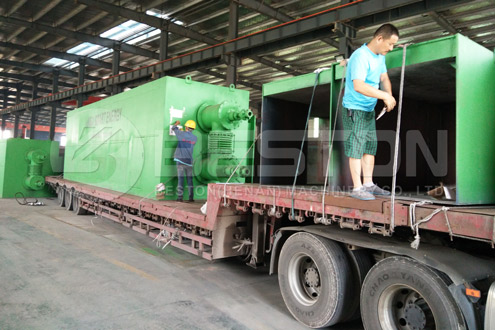 Beton Plastic Pyrolysis Plant in Romania Was Shipped.