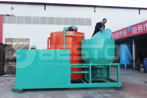 Beston Integrated Pulping System of Pulp Molding Machine