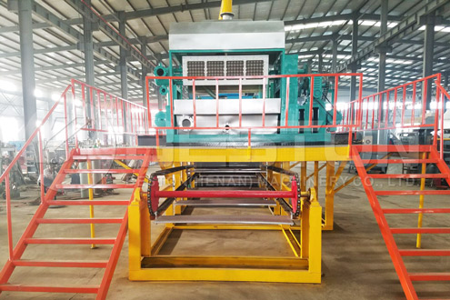 Metal-Conveyor Drying Machine