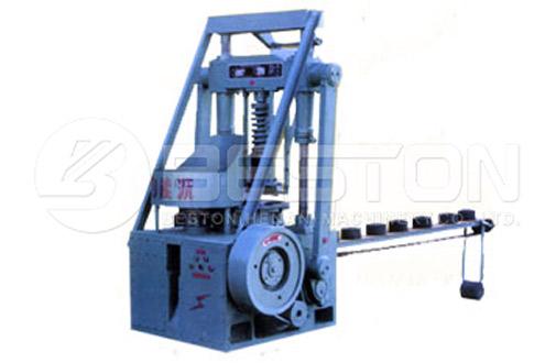 Rice Husk Charcoal Briquettes Machine Nilagyan ng Beston Rice Husk Charcoal Making Machine
