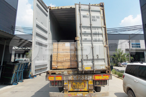 BLL-30 Waste Plastic Recycling Machine Shipped to Romania