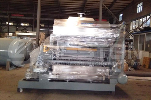 Paper Egg Tray Making Machine in Indonesia