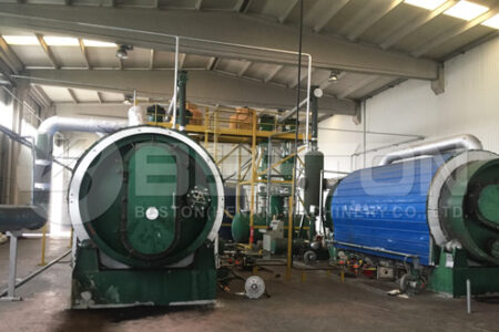 Beston Tyre Pyrolysis Plant in Turkey