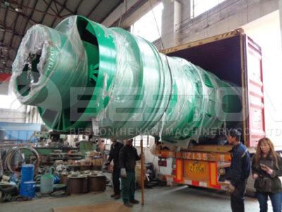 BST-50 Beston Charcoal Production Equipment Shipped to Spain
