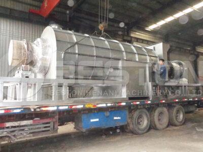 Угольная машина с оболочкой из пальмового ядра