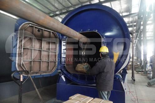 BLJ-10 Pyrolysis Machine Was Shipped to Uganda
