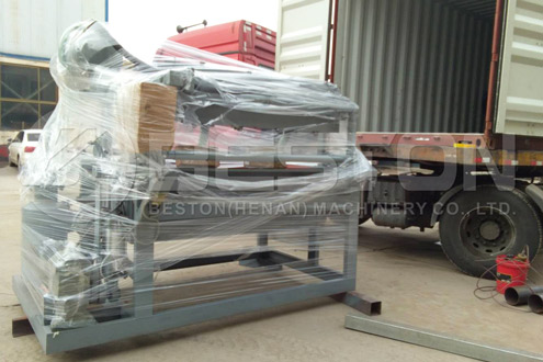 Egg Tray Machine Was Shipped to the Sudan