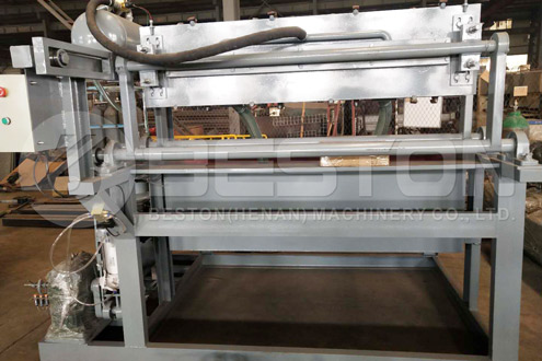 Paper Egg Tray Making Machine Was Shipped to the Sudan