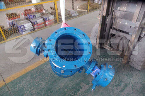 Parts of Tire Recycling Equipment