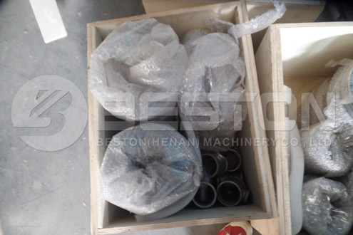Parts of Tire Recycling Machine