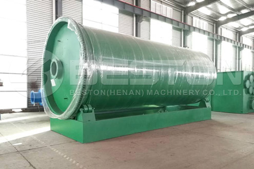 Shipment of Pyrolysis Plant to the Philippines