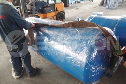 Shipment of Tyre Pyrolysis Plant to Nigeria