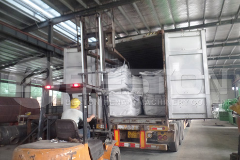 Tyre Pyrolysis Machine was Shipped to Nigeria