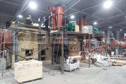 Wood Charcoal Machine in Ukraine