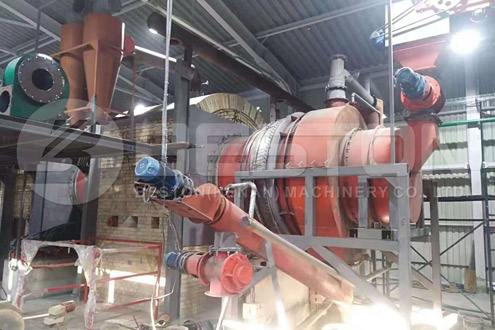 Wood Charcoal Manufacturing Machine in Ukraine