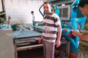 Cliente da Egg Carton Machine na Arábia Saudita