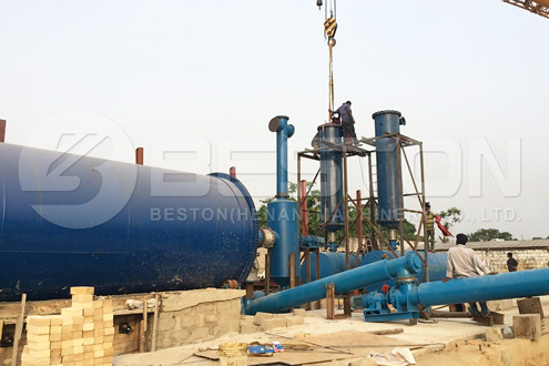 Installation of Beston Plant in Nigeria almost finished