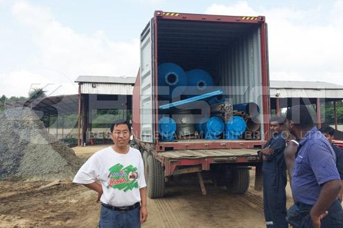 Machine for Oil Sludge Treatment