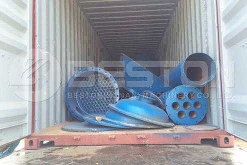 Shipment of Oil Sludge Pyrolysis Plant