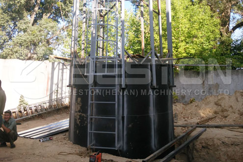 Small Scale Pyrolysis Machine