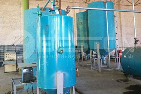 Small Tyre Pyrolysis Machine