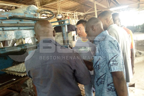 Paper Egg Tray Making Machine Installed in Ivory Coast