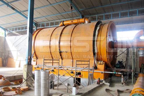 Nhà máy nhiệt phân lốp xe