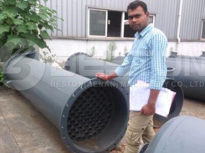 Nigerian Customer Checked Pyrolysis Plant