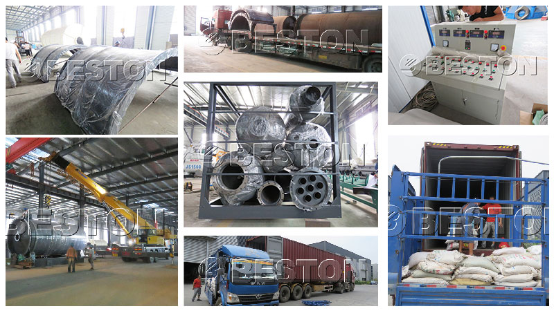 BLJ-10 Plastic Pyrolysis Machine Shipped to South Korea