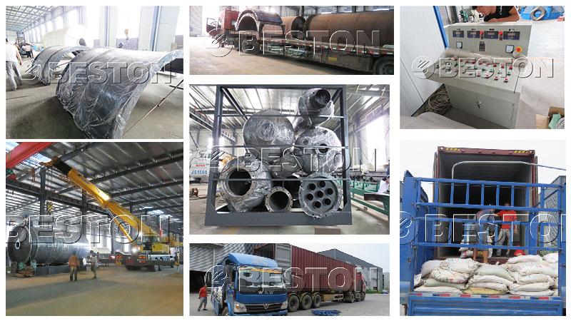 BLJ-10 Plastic Pyrolysis Machine Shipped to South Korea