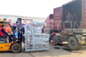Small Egg Tray Machine Shipped to Tanzania