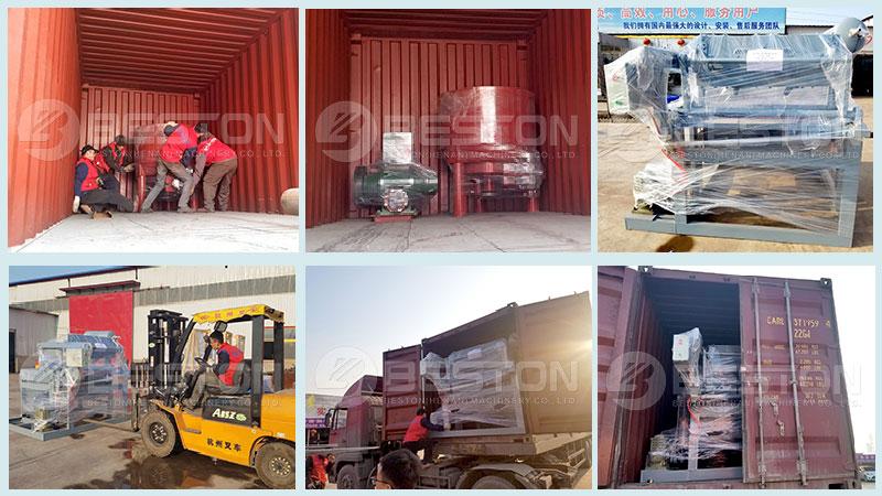 Small Egg Tray Machine Was Shipped to Tanzania