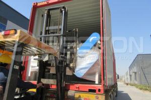 کارخانه تولید گازهای گلخانه ای BLJ-6 کوچک به ترکیه تحویل داده شده است