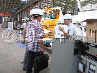 South Korean Customer Checked Waste Pyrolysis Equipment