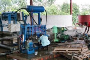 Machine manuelle de plateau d'oeufs