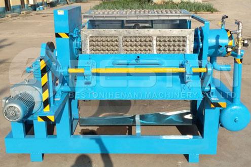 Machine manuelle de plateau d'oeufs BTF-3-4