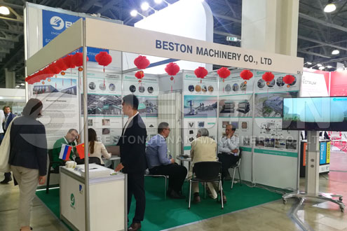 Beston Joined Exhibition in Russia