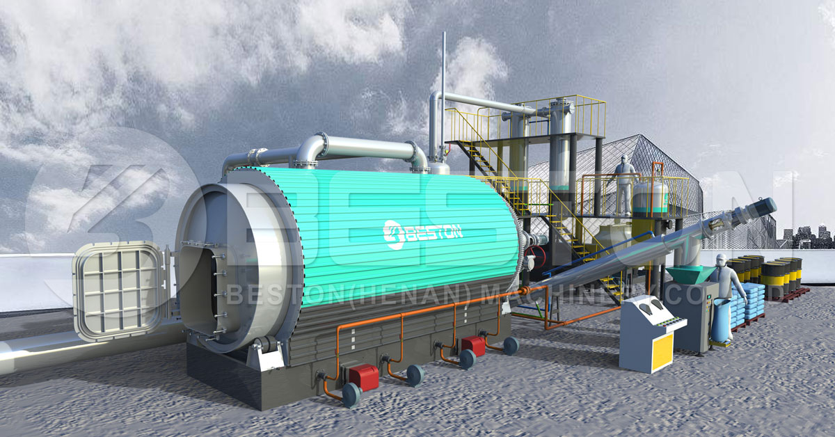 Beston Small Pyrolysis Plant