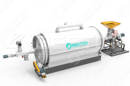 Semi continuous Pyrolysis Reactor