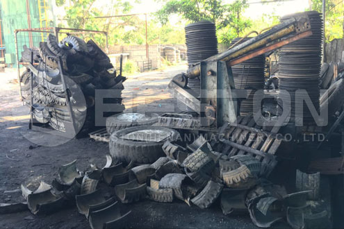 Tyre Waste in Indonesia