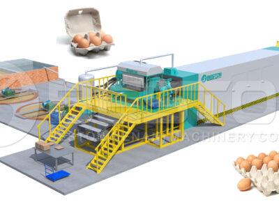 Automatic Egg Tray Making Machine