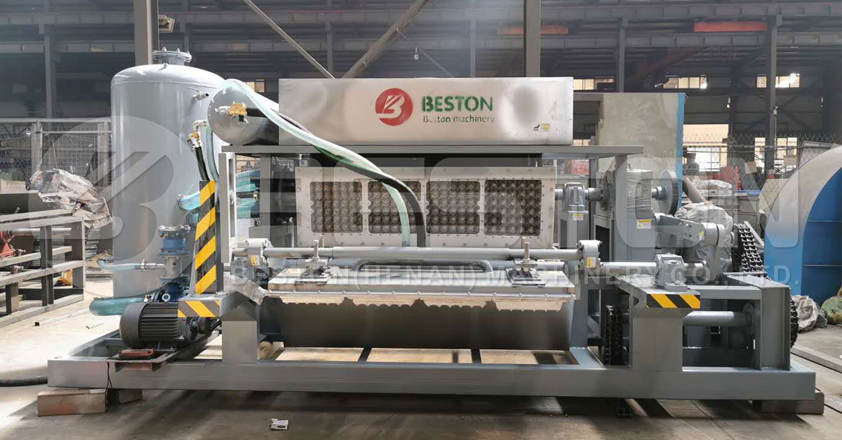 Automatic Egg Tray Making Machine for Sale