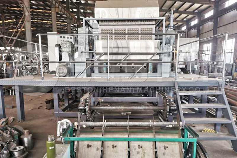 BTF-4-8 Beston Egg Tray Machine for Sale