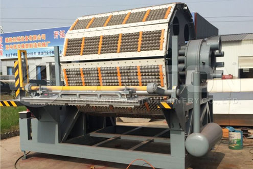 BTF-5-12 fully Automatic Paper Egg Tray Machine